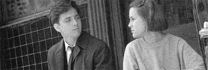 Andrew McCarthy and Mary Stuart Masterson star in HEAVEN HELP US, directed by Michael Dinner for Tri-Star Pictures.