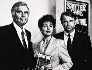 Even a hackneyed Charlton Heston is better than Julie Carmen and Sam Niell IN THE MOUTH OF MADNESS.