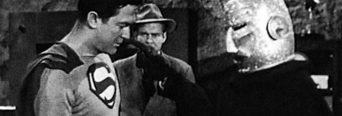 Atom Man vs. Superman (1950, Spencer Gordon Bennet), Chapter 8: Into the Empty Doom!