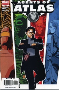 Agents of atlas 2006 1